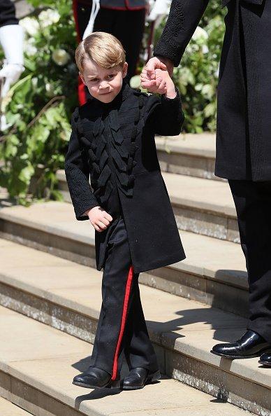 Prinz George, Hochzeit von Meghan Markle und Prinz Harry, Windsor Castle, 2018 | Quelle: Getty Images
