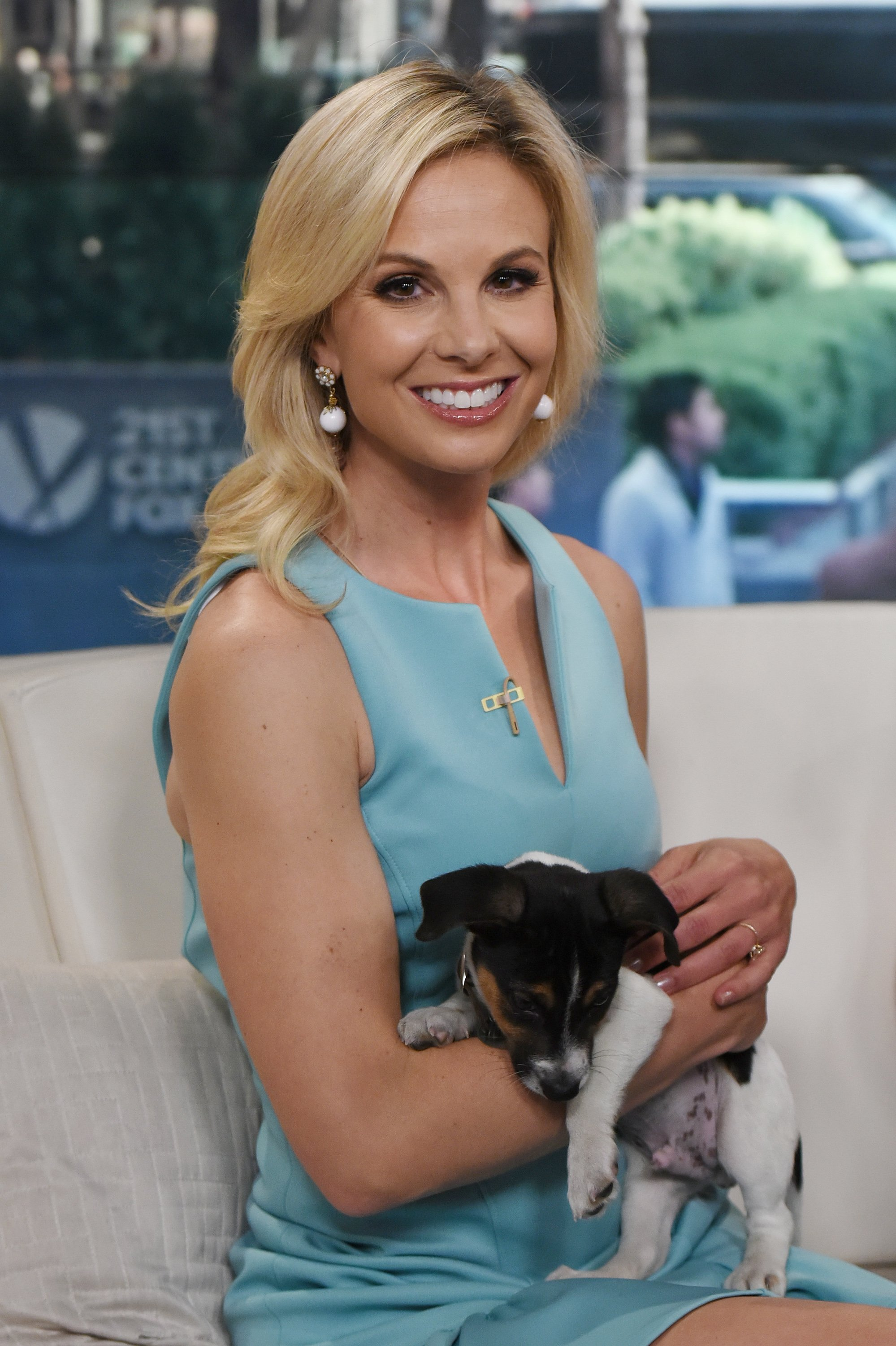Elisabeth Hasselbeck poses for a photo during FOX and Friends at FOX Studios on May 1, 2015  | Photo: GettyImages