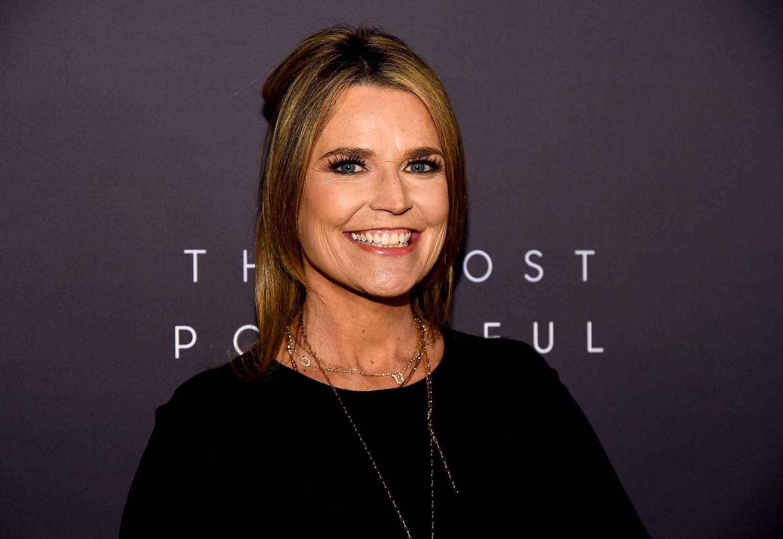 Savannah Guthrie at the Hollywood Reporter's 9th Annual Most Powerful People In Media at The Pool on April 11, 2019   Photo: Getty Images