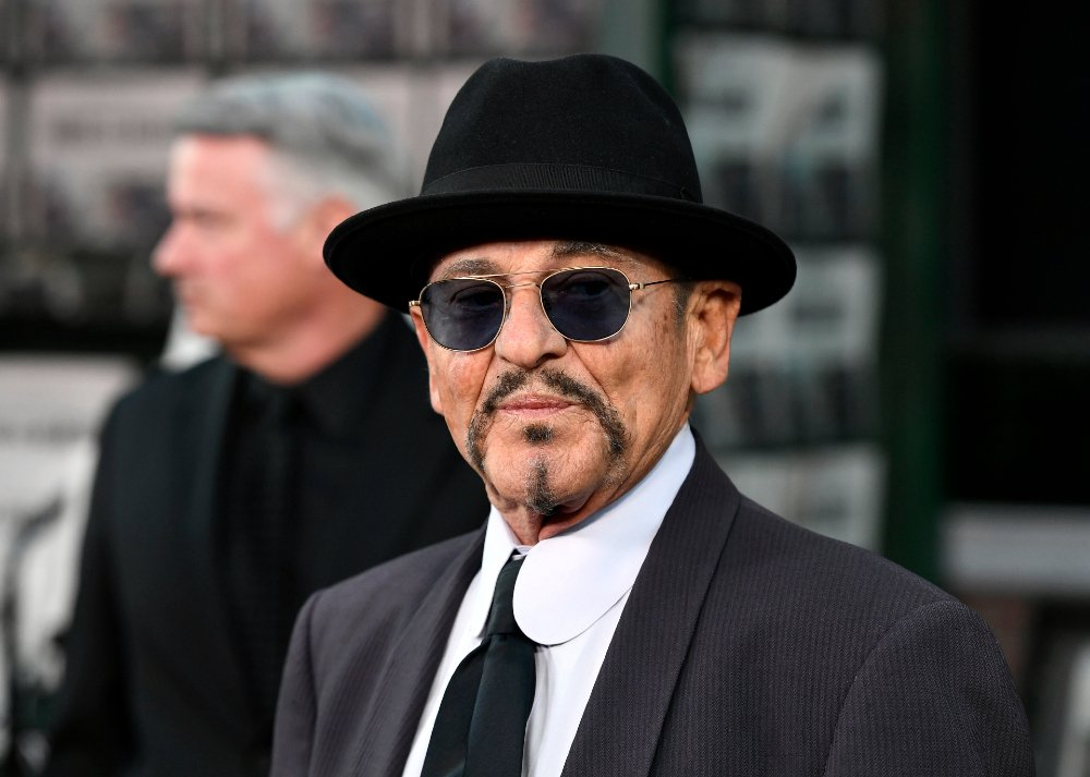 """Joe Pesci attending the premiere of """"The Irishman"""" in Hollywood, California, in October 2019. 