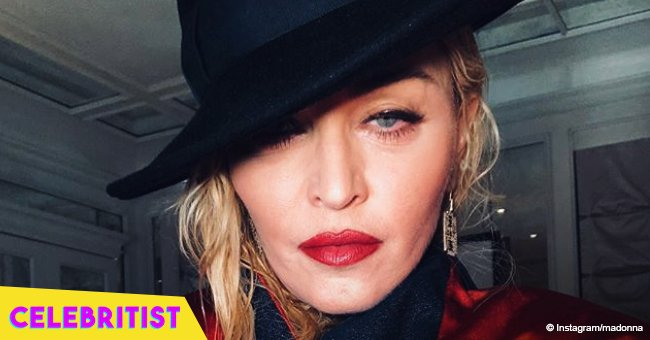 Madonna slammed for sharing pic of Black daughters with 'Make America Great Again' caption
