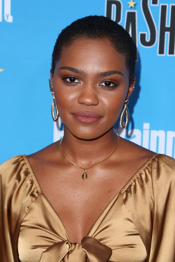 China McClain arriving at the Entertainment Weekly Comic-Con Celebration at Float at Hard Rock Hotel San Diego in San Diego, California in July 2020. | Source: Getty Images.