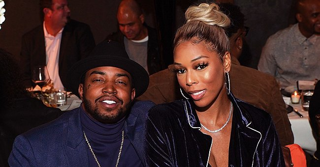 LHHATL's Lil Scrappy & Bambi's Newborn Baby Melts Hearts Posing with Her Fist under Her Cheek