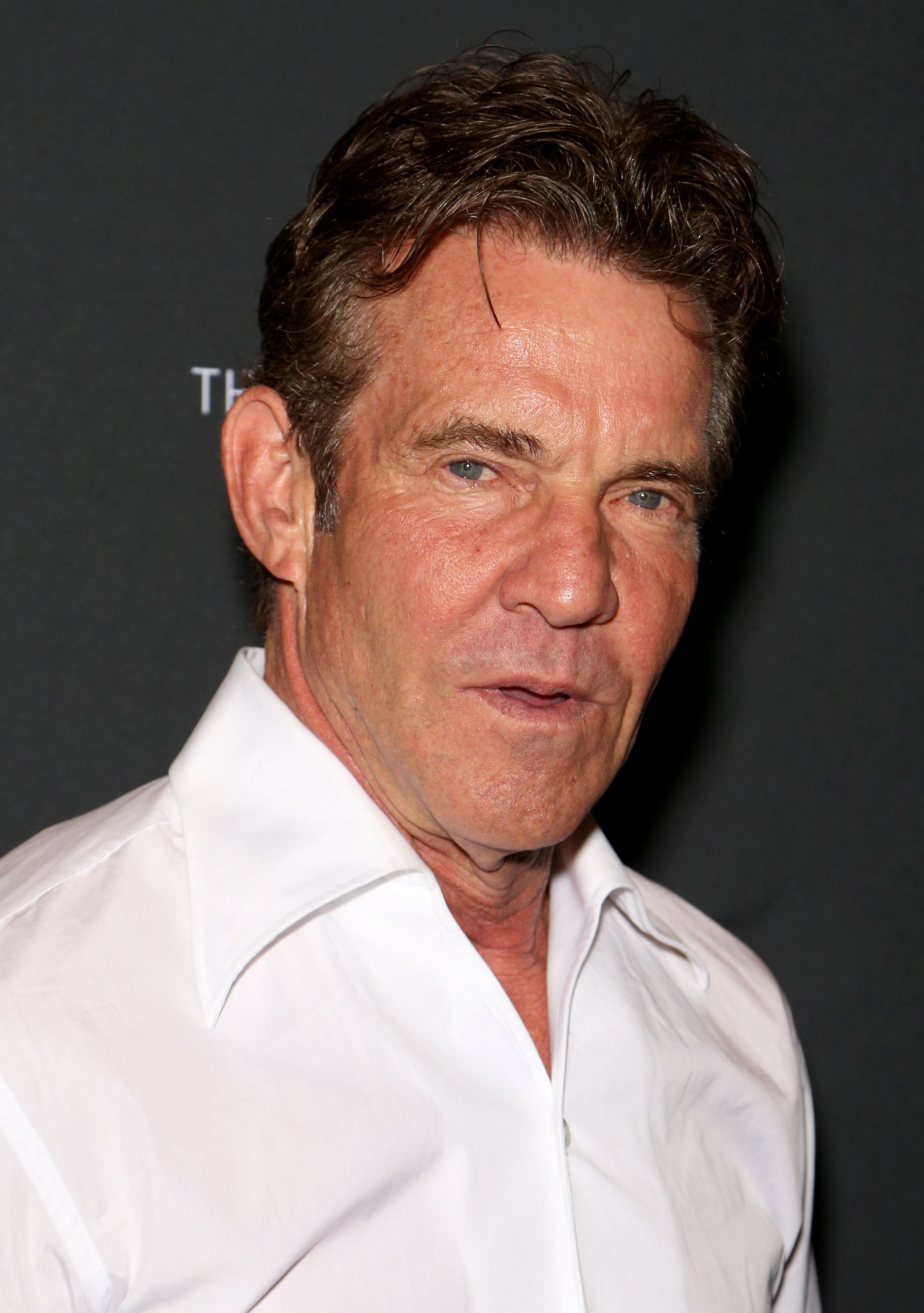 "Dennis Quaid attends ""Dennis Quaid and The Sharks at The Barbershop Cuts & Cocktails at The Cosmopolitan"" of Las Vegas on May 11, 2019. 