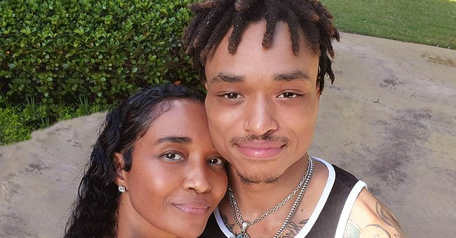 TLC's Chilli's Heavily-Tattooed Son Tron Shares Family Photos with Mom Showing Their Similarity