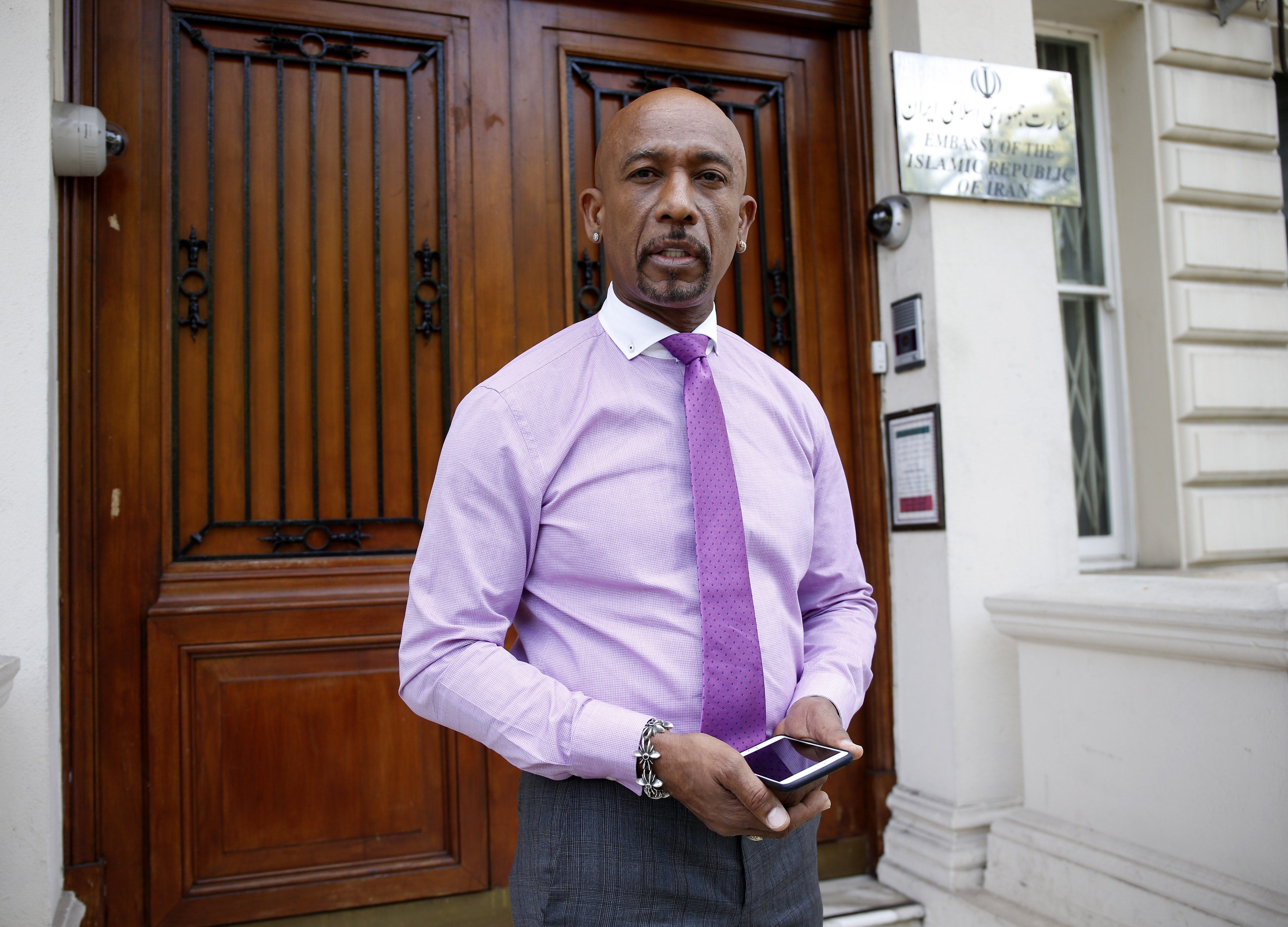 Montel Williams on June 26, 2015 in London, England | Photo: Getty Images