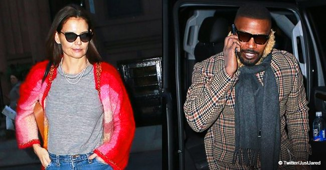 Katie Holmes and Jamie Foxx get together to celebrate her 40th birthday with dinner in NYC