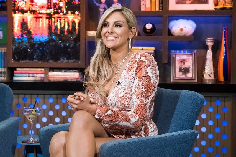"""Gina Kirschenheiter on October 22, 2018 at during an interview with """"Watch What Happens Live With Andy Cohen"""" 