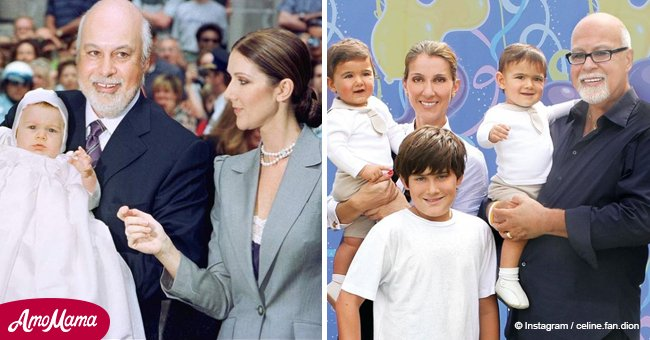Remember Celine Dion's son? He's all grown up and follows in his mom's footsteps