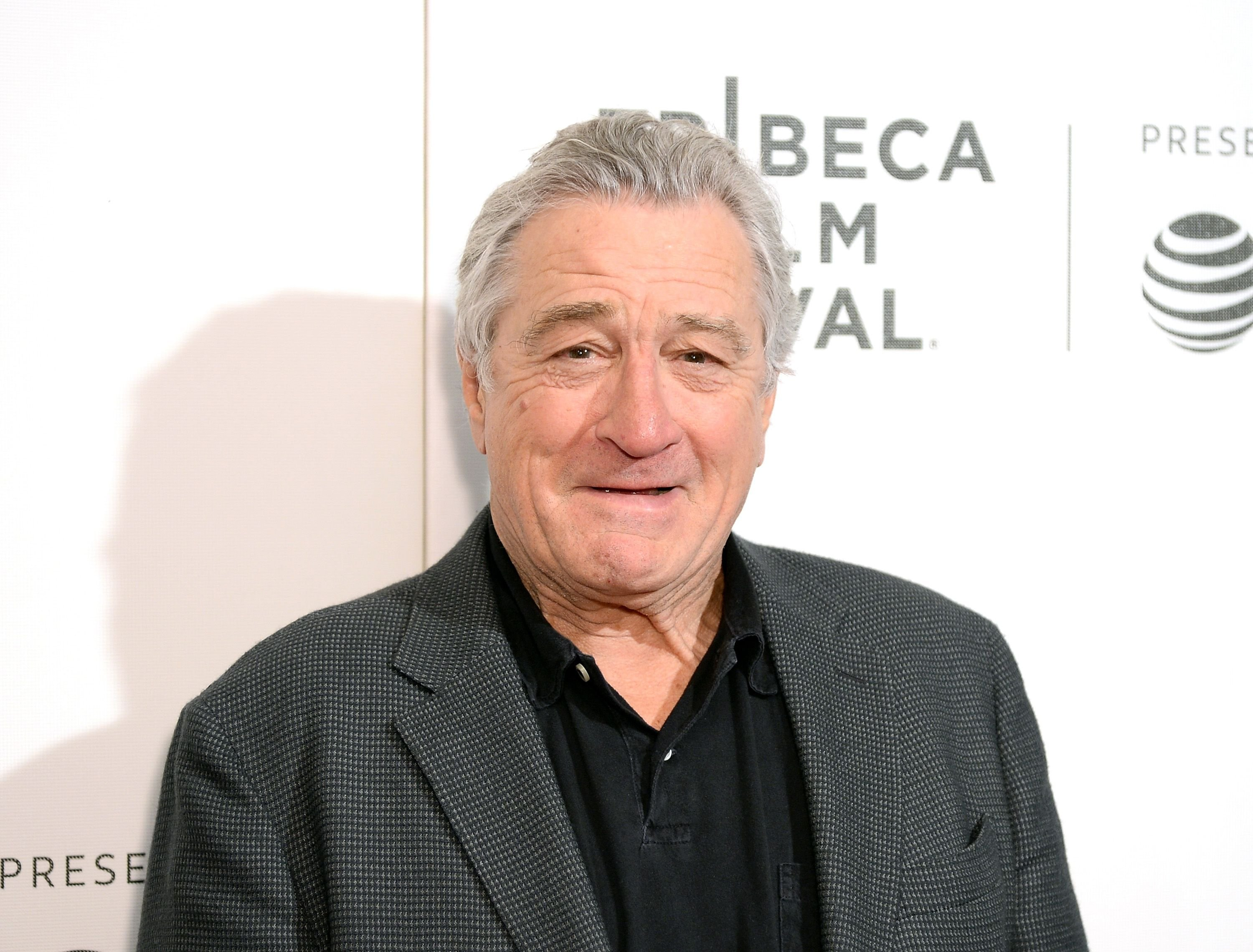 """Robert De Niro at the premiere of """"Women Walks Ahead"""" at the Tribeca Film Festival on April 25, 2018, in New York City 