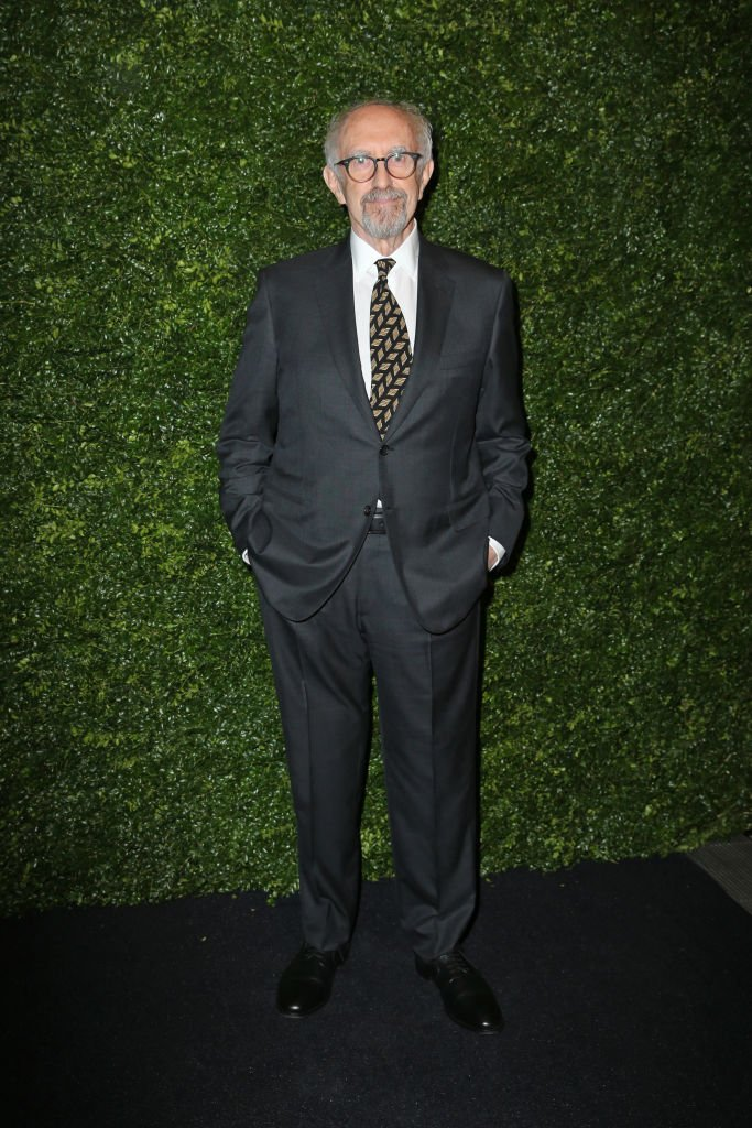 Jonathan Pryce in February 2020 in Mayfair, London    Photo: Getty Images