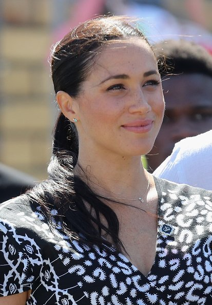 Meghan, Duchess of Sussex visits a Justice Desk initiative in Nyanga township, South Africa | Photo: Getty Images