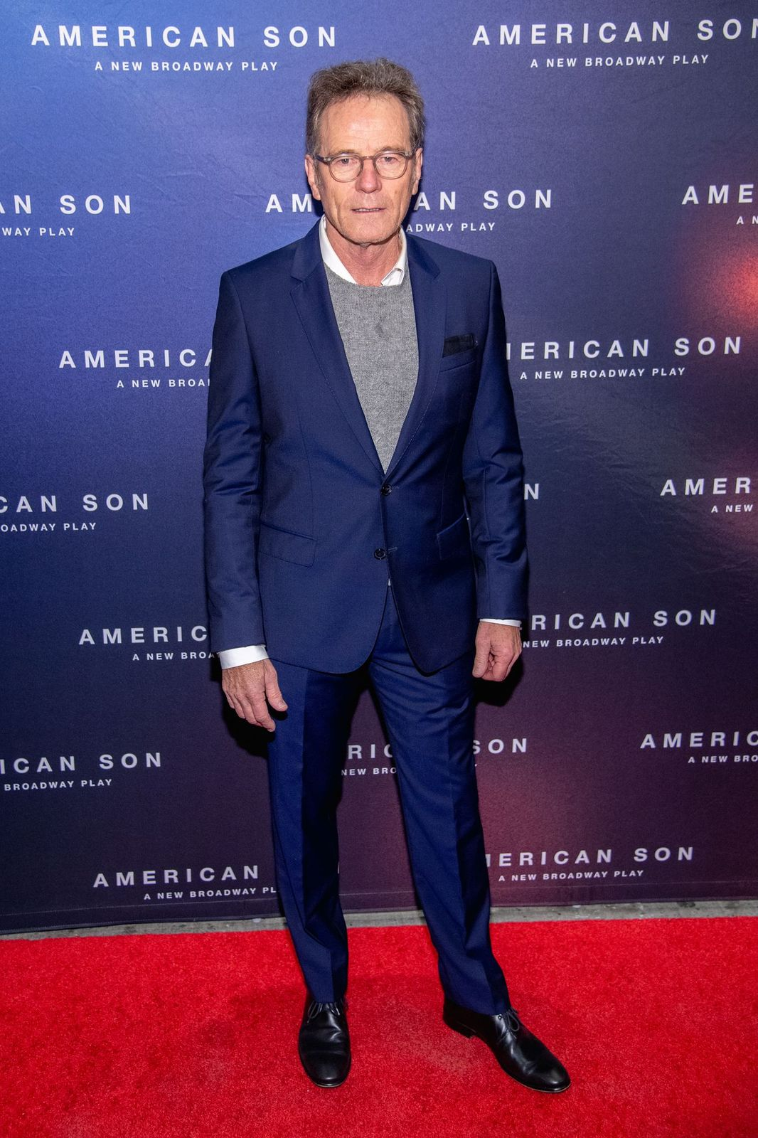 """Bryan Cranston at the opening night of""""American Son""""on November 04, 2018 