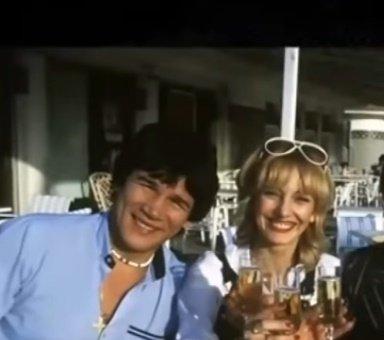 Carlos y Alicia en los inicios de su relación. | Imagen: YouTube/Implacables