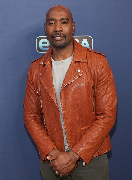 "Morris Chestnut visits ""Extra"" at The Levi's Store Times Square on September 16, 2019 