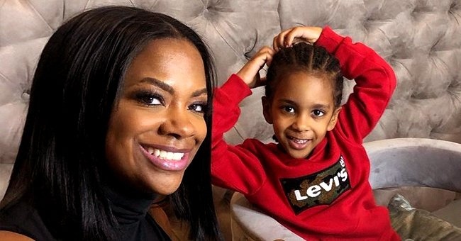 Kandi Burruss and Todd Tucker's Son Ace Is Dapper in Crisp White Suit — See the Photo