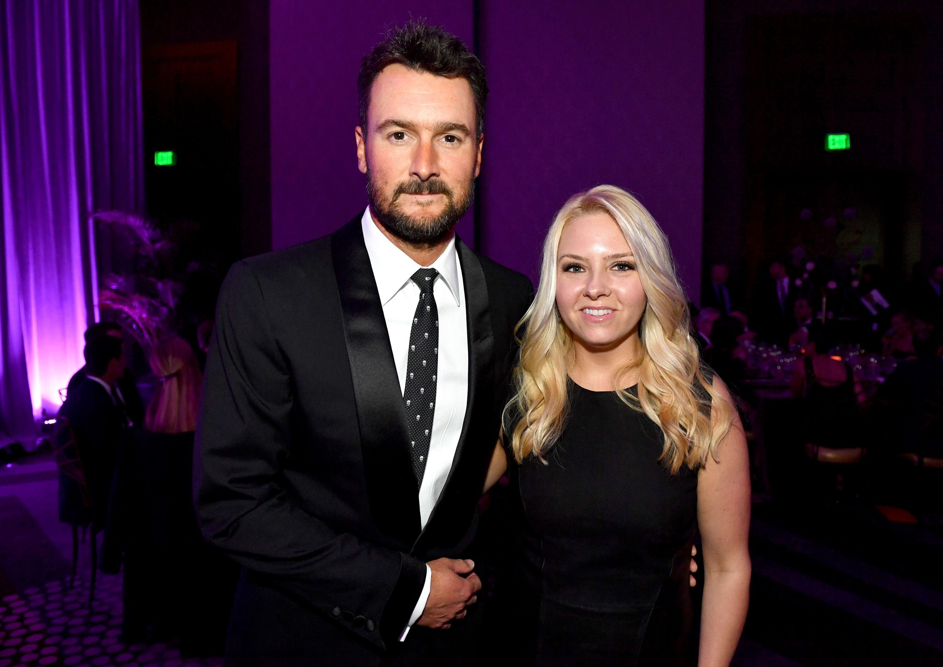 Eric Church and Katherine Blasingame Church at Best Cellars Wine Dinner on April 24, 2017, in Nashville, Tennessee | Photo: Jason Davis/Getty Images
