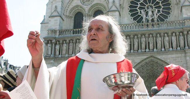 Un prêtre évoque les problèmes des SDF au milieu de la collecte pour la reconstruction de Notre-Dame