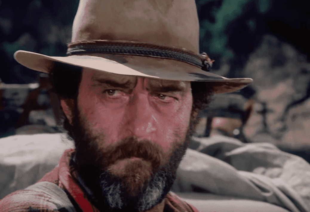 "Victor French in the series ""The Little House in the Prairie"" as Isaiah Edwards. 