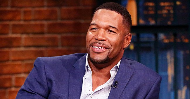 Michael Strahan's Daughter Sophia Looks Beautiful in a Colorful Hoodie and Pigtails in a New Picture