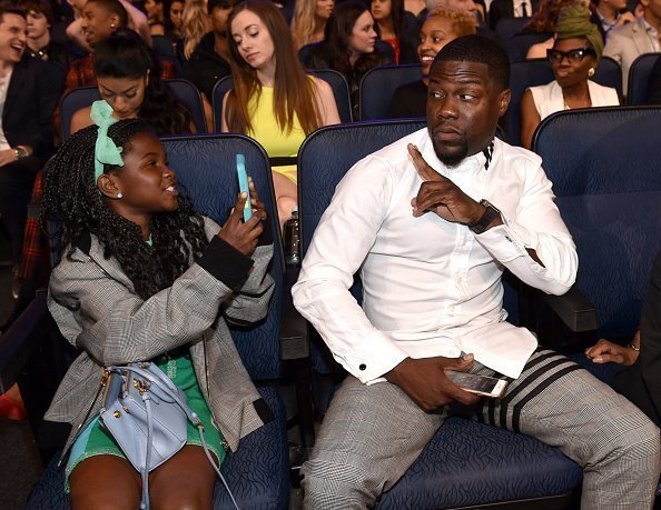 Kevin Hart and Heaven Hart attend The 2015 MTV Movie Awards at Nokia Theatre L.A. Live on April 12, 2015 in Los Angeles, California.|Photo: Getty Images