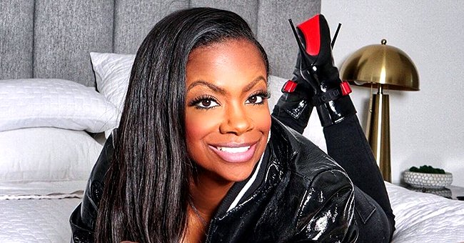 Kandi Burruss' Stepdaughter Kaela Tucker Shows off Her Back Tattoo in a Skintight Outfit