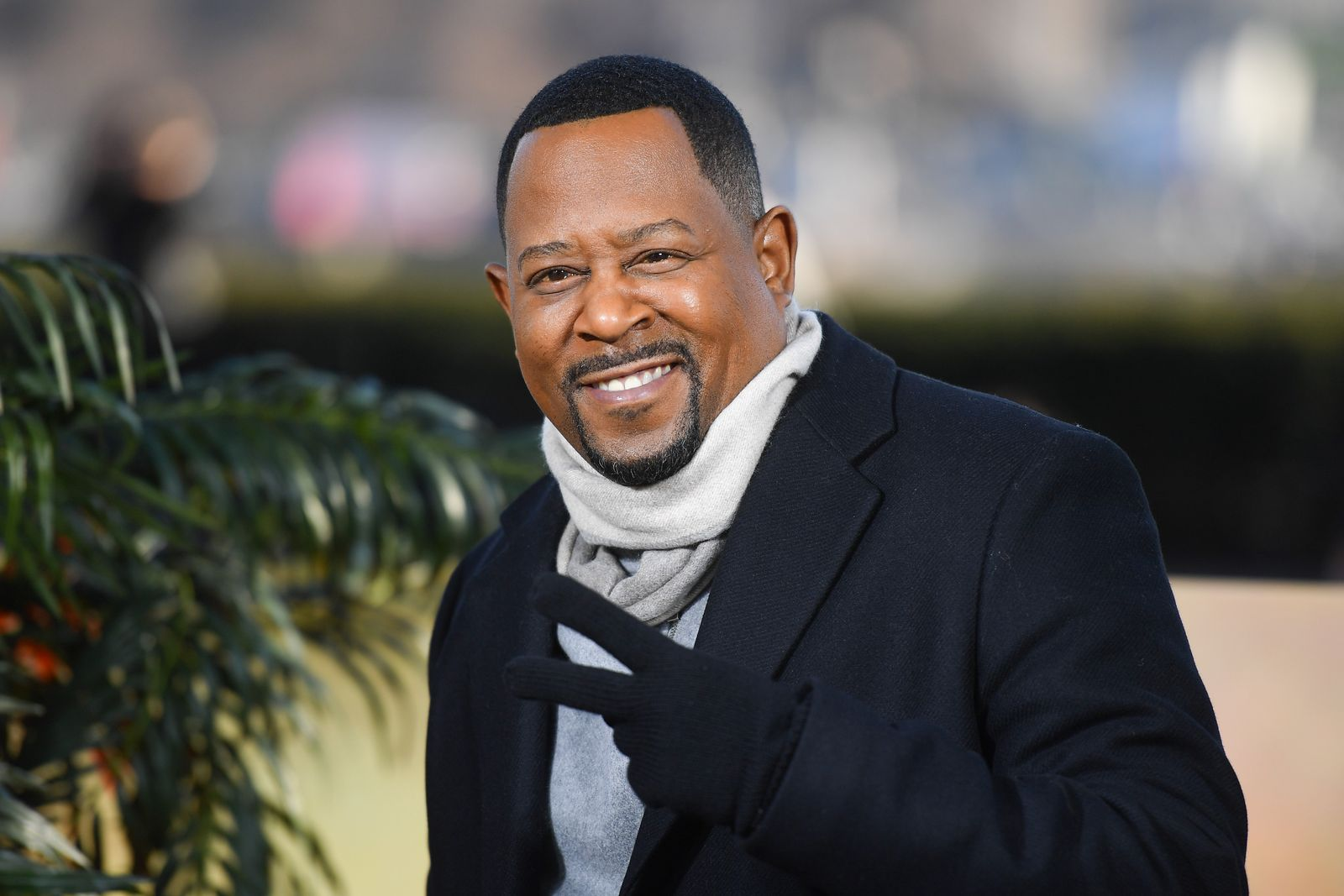 """Martin Lawrence attends the """"Bad Boys For Life"""" photocall at Terrasse Du Cafe de l'Homme on January 06, 2020 