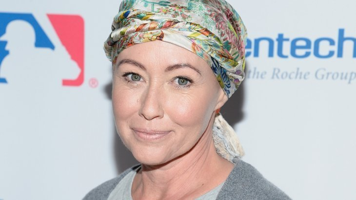 Shannen Doherty at the 5th Biennial Stand Up To Cancer event | Photo: Getty Images
