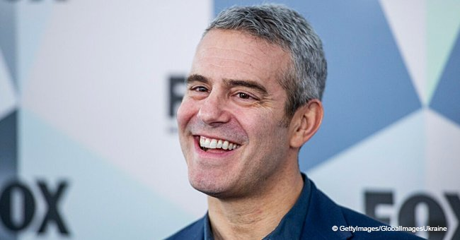 Andy Cohen shares first photos of his newborn son's full head of hair
