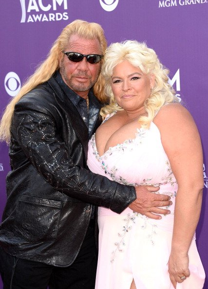 Duane Chapman and Beth Chapman at the MGM Grand Garden Arena on April 7, 2013 in Las Vegas, Nevada. | Photo: Getty Images