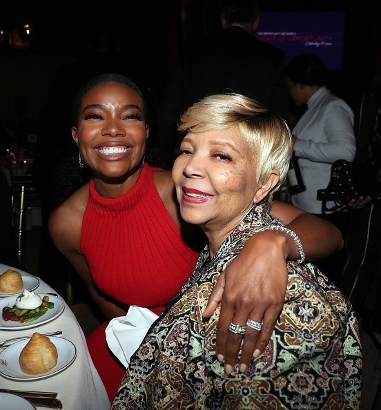 Gabrielle Union and her mother, Theresa Union at Cipriani Wall Street in New York City.| Photo: Getty Images.