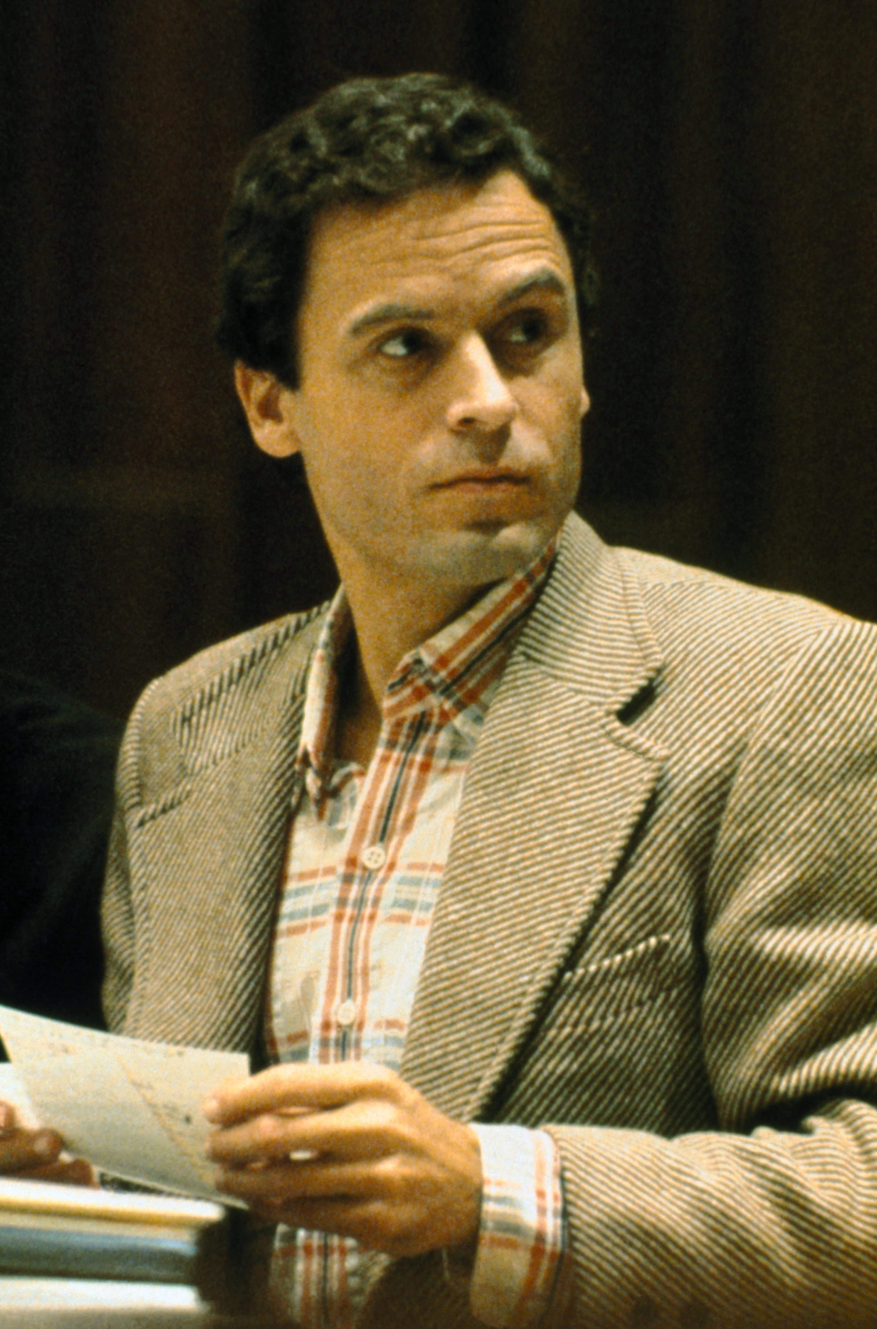 Close up of Theodore Bundy, convicted Florida murderer, charged with other killings.| Source: Getty Images