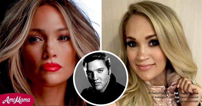 Jennifer Lopez and Carrie Underwood are set to sing Elvis Presley's hits on his tribute show
