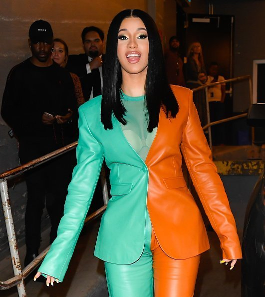 Cardi B is seen in Soho on October 10, 2019 | Photo: Getty Images
