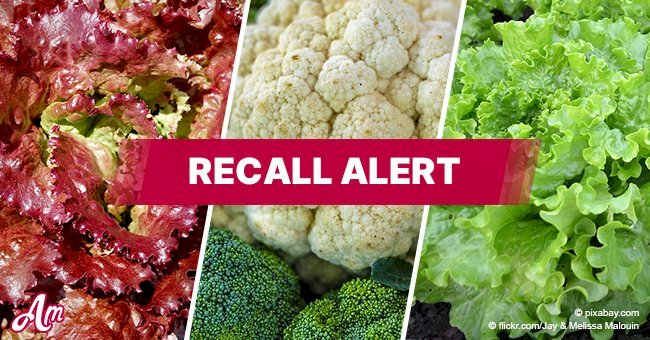Cauliflower, red leaf lettuce, and green leaf lettuce recalled