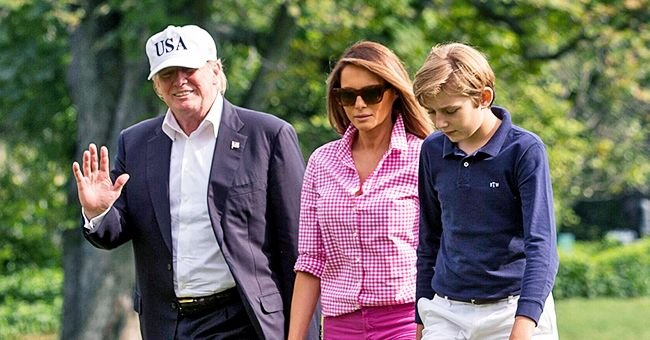 Melania Trump Once Explained Why Barron Trump Speaks with an Accent like Hers