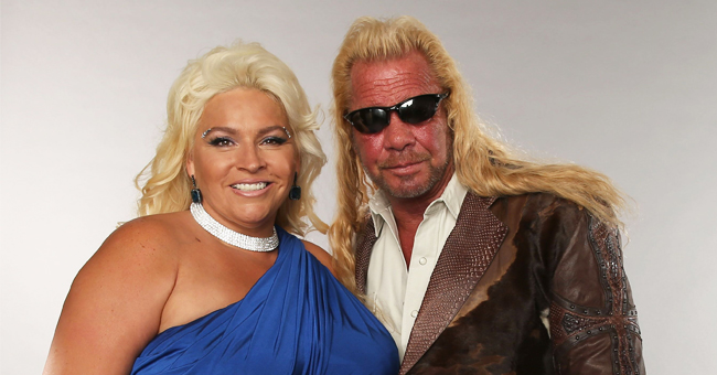 Beth Chapman Shares a Rare Photo of 'Dog the Bounty Hunter' with His Three Grandkids