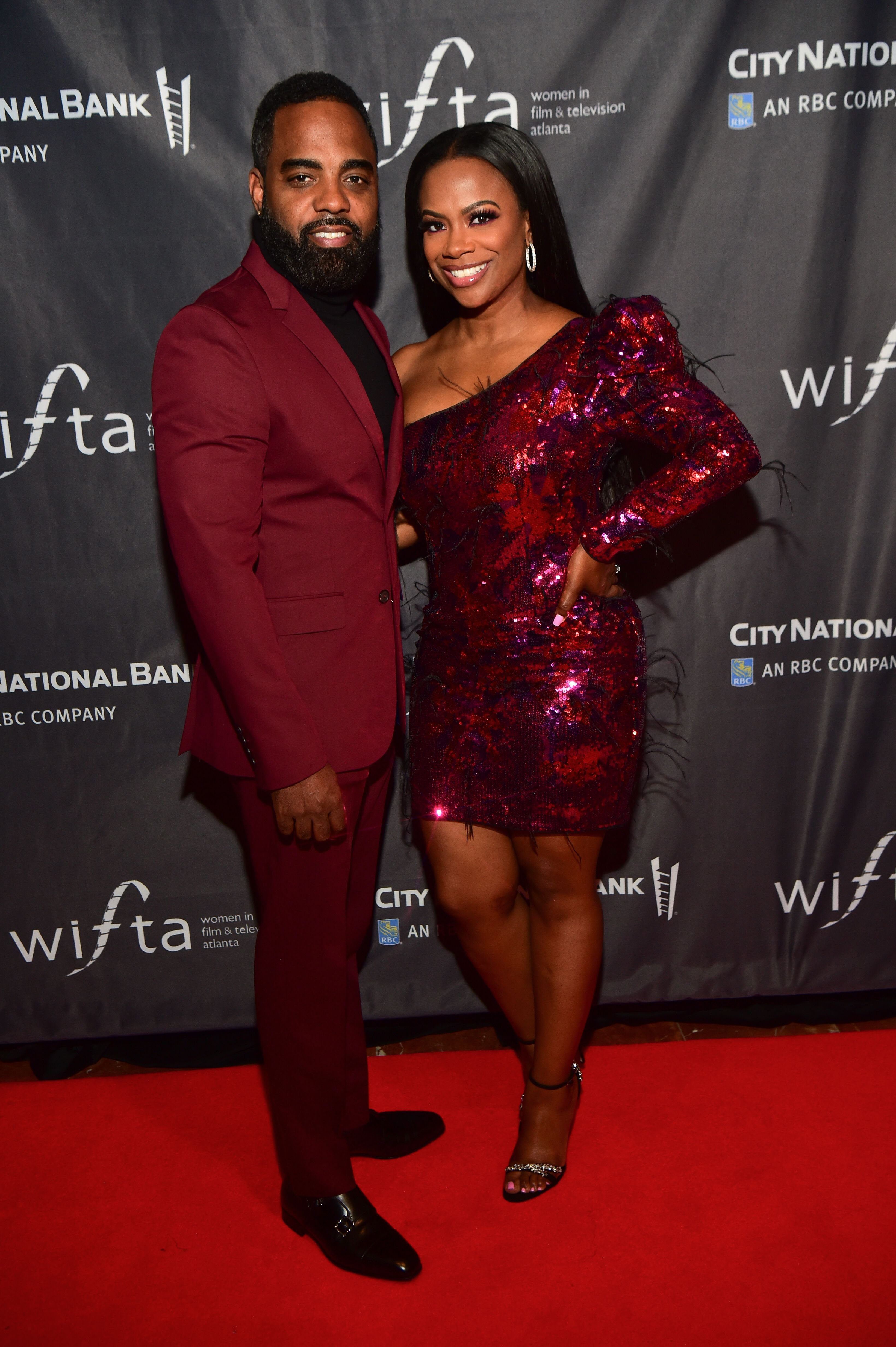 Todd Tucker and Kandi Burruss arrive on the red carpet at The Sneak Peek at Agency Restaurant-Bar on November 9, 2019, in Atlanta, Georgia | Source: Getty Images: (Photo by Prince Williams/Wireimage)
