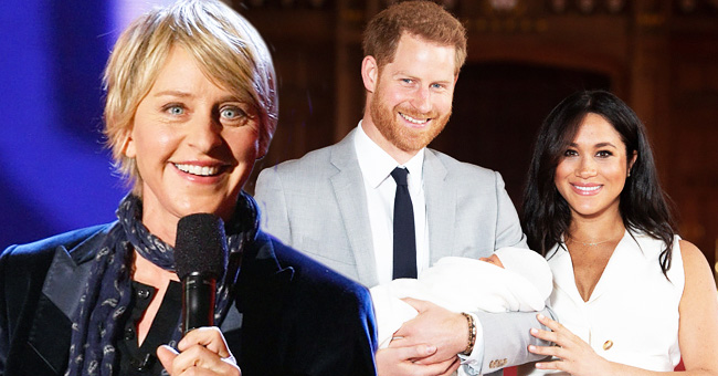 Ellen DeGeneres Met, Held & Fed Baby Archie during UK Summer Trip, Says He Looks like Prince Harry