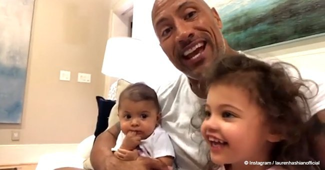 Dwayne Johnson made the best birthday video for his love with the help of 2 cuties