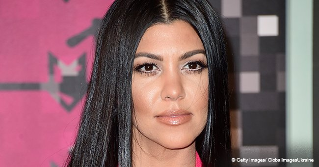 Kourtney Kardashian is being mom-shamed for her son's eyebrows