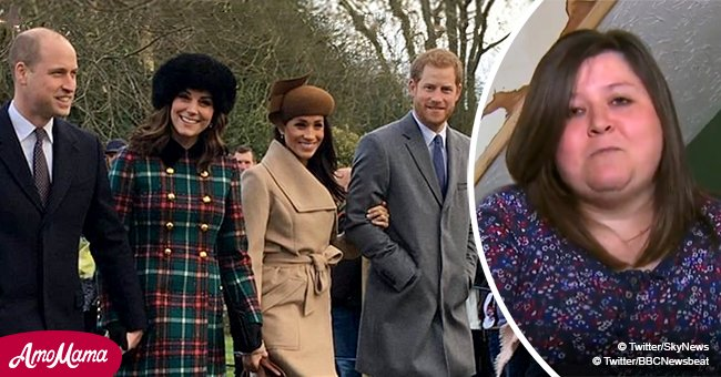 Single mom reveals how a world-famous photo of royals she accidentally took has changed her life