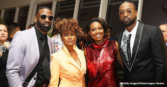 Dwyane Wade Turned up the Heat When He Showed off His Youthful Father and Stepmother in Photo