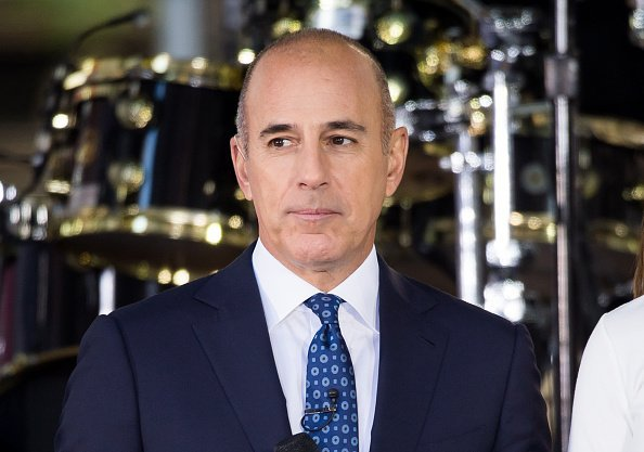"""Matt Lauer attends NBC's """"Today"""" at Rockefeller Plaza on September 29, 2017 in New York City 