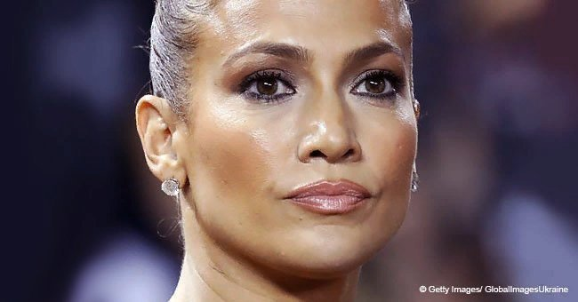 Jennifer Lopez appears in public wearing a big shirt with no visible pants or skirt