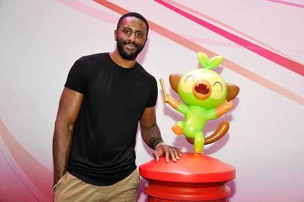 Patrick Patterson at the Nintendo booth during the 2019 E3 Gaming Convention in Los Angeles, California.| Photo: Getty Images.