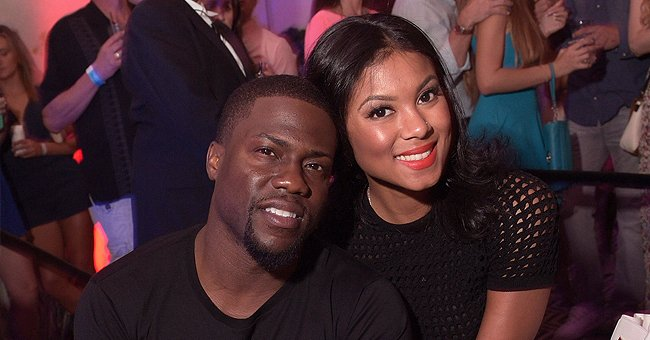 Kevin Hart's Wife Eniko Shows Her Slimmed-down Curves as She Works Out in a Blue Top & Leggings