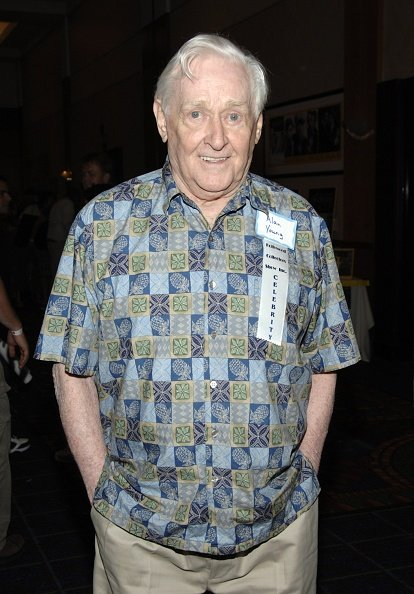 Alan Young at the Burbank Airport Marriott Hotel & Convention Center on July 20, 2007 in Burbank, California. | Photo: Getty Images