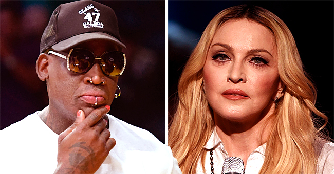 Ex NBA Star Dennis Rodman Claims Madonna Offered Him $20M to Impregnate Her on 'the Breakfast Club'