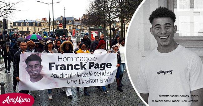 """""""Cela aurait pu être moi"""": Bordeaux rend hommage à un jeune cycliste tué sur la route"""